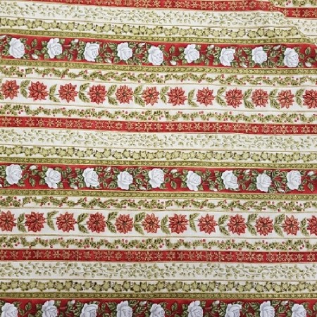 Vintage Rose Stripe